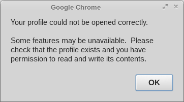 chrome your file could not be opened correctly
